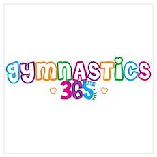 365 Gymnastics Poster