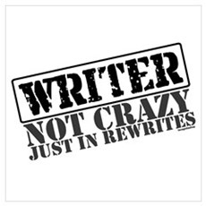 Not Crazy Just In Rewrites Poster