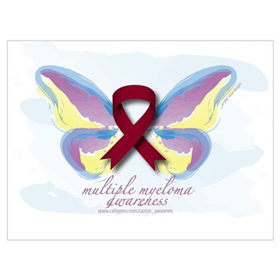 Multiple Myeloma Awareness Canvas Art