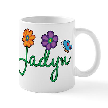 Jadyn Flowers Mug