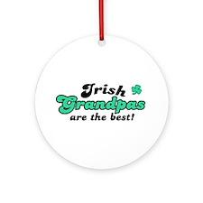 Irish Grandpas Ornament (Round)