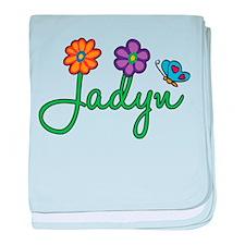 Jadyn Flowers baby blanket