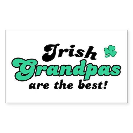 Irish Grandpas Rectangle Sticker