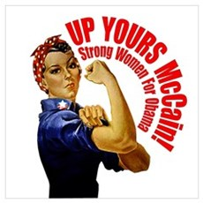 Up Yours McCain! Poster