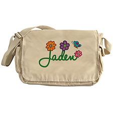 Jaden Flowers Messenger Bag