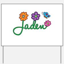Jaden Flowers Yard Sign