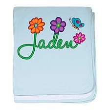 Jaden Flowers baby blanket