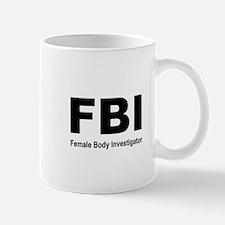 FBI Body Inspector Mug