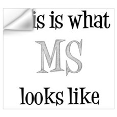 This is what MS looks like Wall Decal