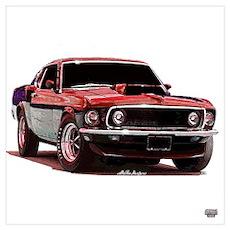 Mustang 1969 Poster