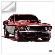Mustang 1969 Wall Decal