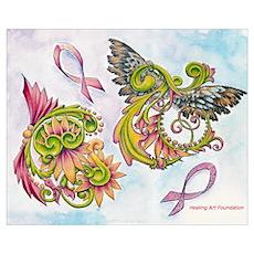 Awareness Wings Poster