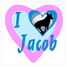 I heart Jacob Poster