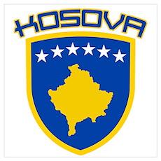 Kosova Coat of Arms Poster