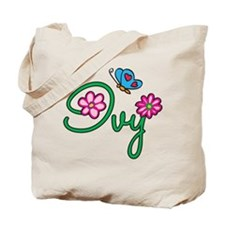 Ivy Flowers Tote Bag
