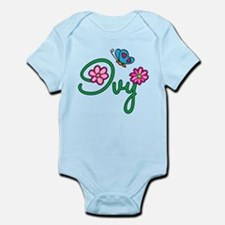 Ivy Flowers Infant Bodysuit