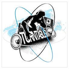 Turntablism DJ Poster