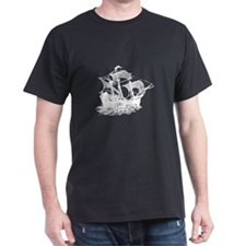 Galleon Ship T-Shirt