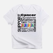 Support All Cancers Infant T-Shirt