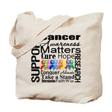 Support All Cancers Tote Bag