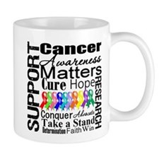 Support All Cancers Small Mug