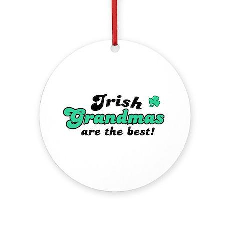 Irish Grandmas Ornament (Round)
