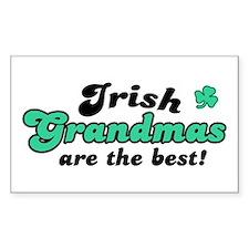 Irish Grandmas Rectangle Decal