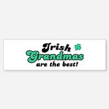 Irish Grandmas Bumper Bumper Bumper Sticker