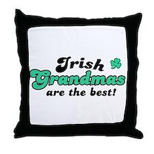 Irish Grandmas Throw Pillow