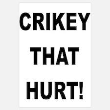 Crikey That Hurt
