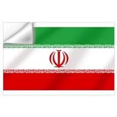Iranian flag of Iran Wall Decal