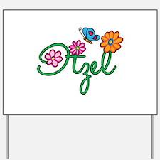 Itzel Flowers Yard Sign