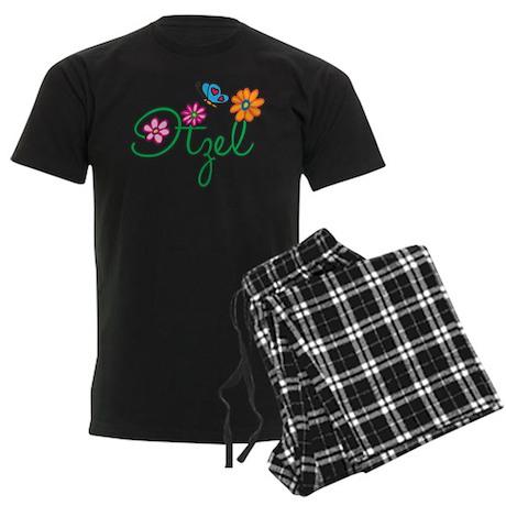 Itzel Flowers Men's Dark Pajamas