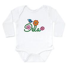Isla Flowers Onesie Romper Suit