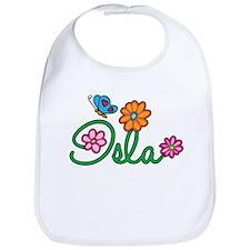 Isla Flowers Bib