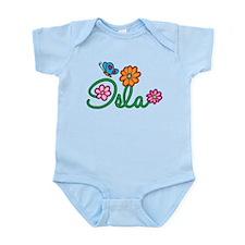 Isla Flowers Infant Bodysuit