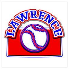 Lawrence Baseball Poster