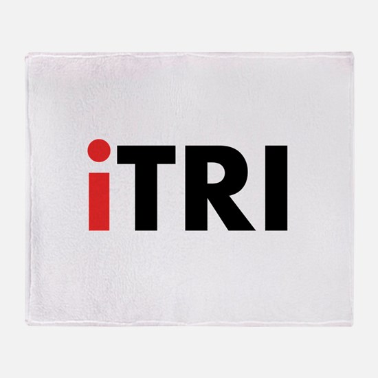 iTRI Triathlon Throw Blanket