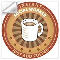 Instant Social Worker Wall Decal