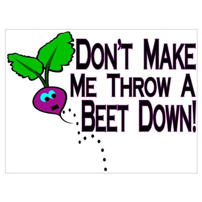 Beet Down Poster