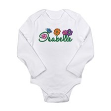 Isabelle Flowers Long Sleeve Infant Bodysuit