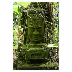 Angkor statue Poster