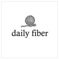 Daily Fiber - Yarn Ball Framed Print