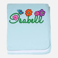 Isabell Flowers baby blanket