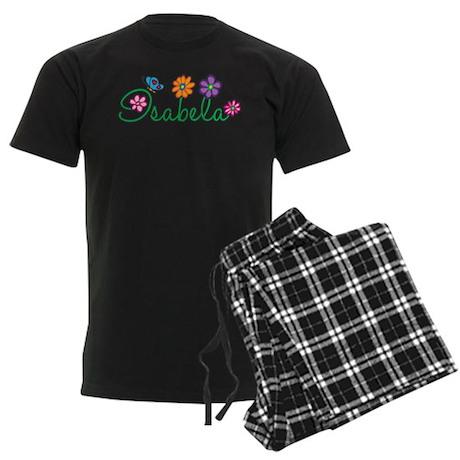 Isabela Flowers Men's Dark Pajamas