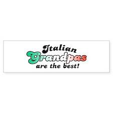 Italian Grandpas Bumper Bumper Sticker