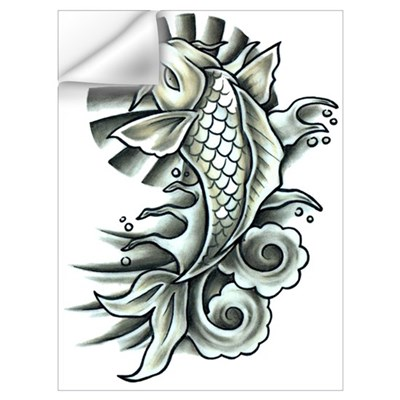 Buckshot Koi Wall Decal