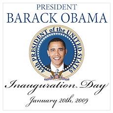 President Obama first black president Poster