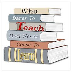Teach... Learn Poster