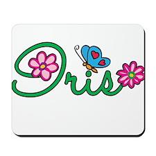 Iris Flowers Mousepad